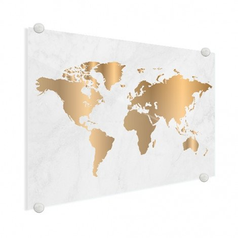 Gold Marmor Acrylglas
