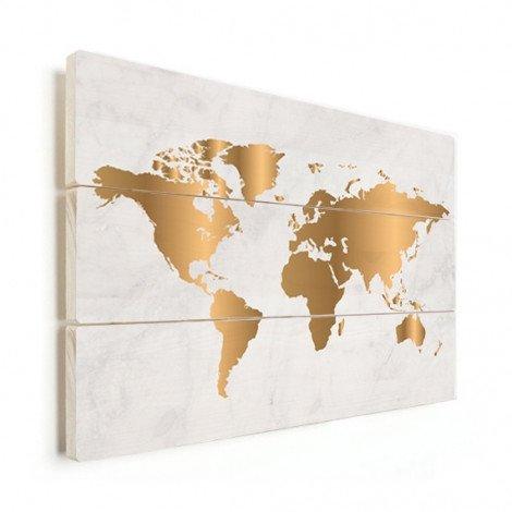 Gold Marmor Holz