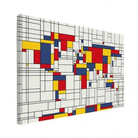 Mondrian - original Leinwand