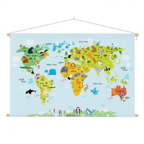 Lustige Tiere Textilposter