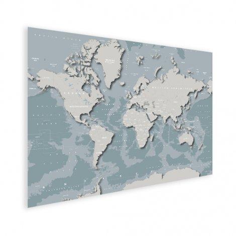 Coole Weltkarte Poster