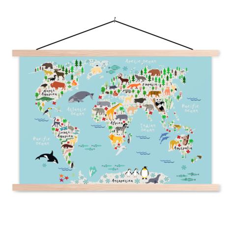 Unser Tierreich Textilposter