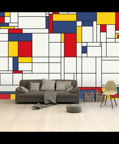 Mondrian - original Tapete