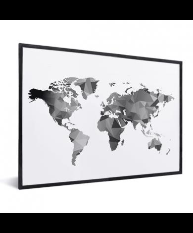 Geometrisch – Schwarz-Weiß im Rahmen
