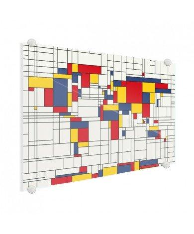 Mondrian - original Acrylglas