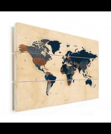 Historisch Pergament Holz