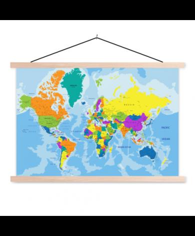 Grelle Farben Textilposter