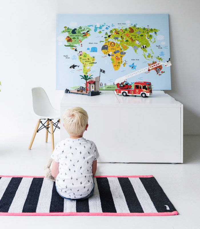 Weltkarte Kinder